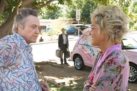 Alessandro Nivola Christopher Walken as Nat,  as Ritchie Flynn and Sharon Stone as Dolores Jones in $5 a Day.