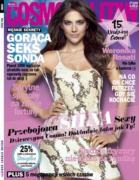 Weronika Rosati - Cosmopolitan Poland May 2012