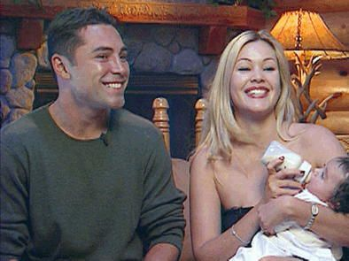 Shanna Moakler & Oscar De La Hoya with their Daughter