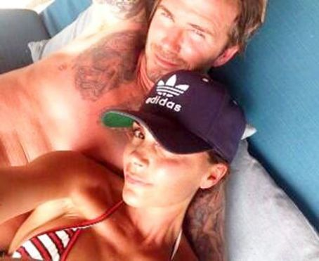 Victoria Beckham Spends 40th Birthday With Shirtless Husband David Beckham