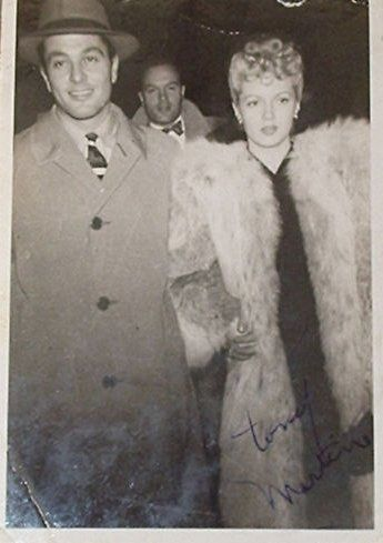 Tony Martin and Lana Turner