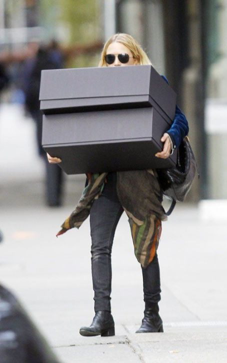 Ashley Olsen Is A Handful In NYC