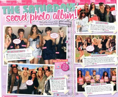 Rochelle Humes - The Saturdays Magazine scans and shoots