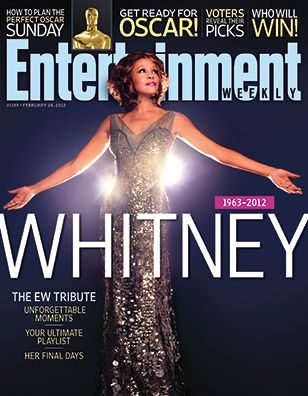 Whitney Houston - Entertainment Weekly Magazine Cover [United States] (24 February 2012)