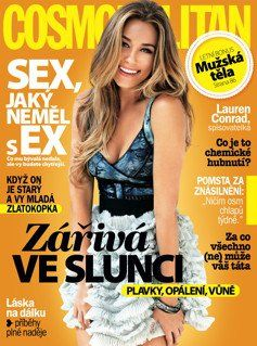 Lauren Conrad - Cosmopolitan Magazine Cover [Czech Republic] (June 2011)