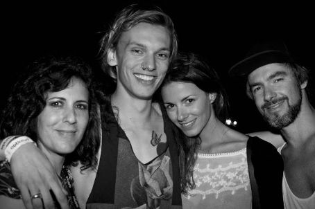 Zina Charkoplia  and Jamie Campbell Bower