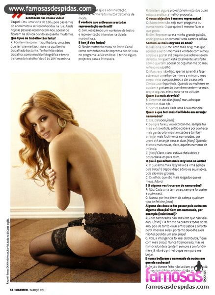 Raquel Jacob Catarina Jacob,  - Maxmen Magazine Pictorial [Portugal] (March 2011)