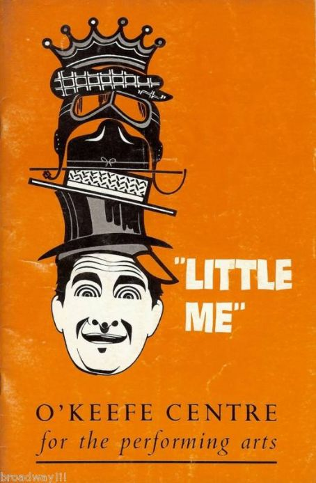 Sid Caesar PROGRAM FROM THE 1962 BROADWAY BOUND MUSICAL ''LITTLE ME''