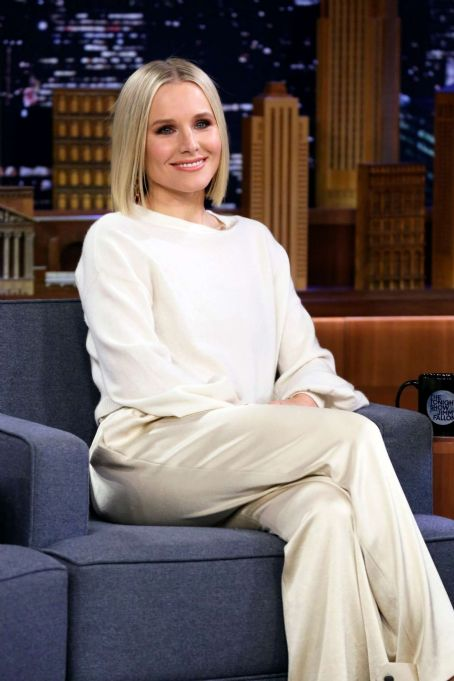 Kristen Bell – On 'The Tonight Show Starring Jimmy Fallon' in NYC