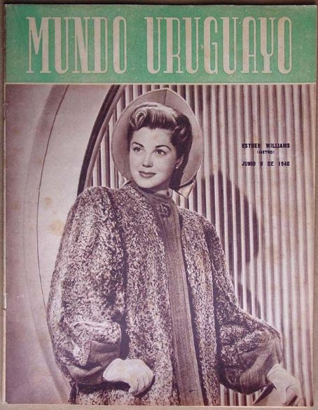 Esther Williams - Mundo Uruguayo Magazine [Uruguay] (6 June 1946)