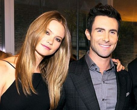Adam Levine Used Fiancee Behati Prinsloo's Thumbprint to Unlock iPhone Candy Crush While She Was Sleeping