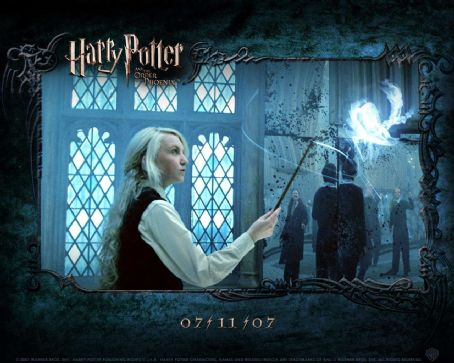 Evanna Lynch - Harry Potter and the Order of the Phoenix Wallpaper