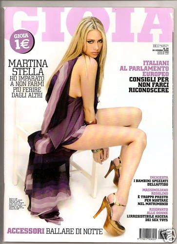 Martina Stella - Gioia Magazine Cover [Italy] (6 June 2009)