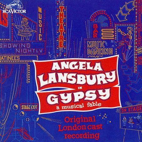 GYPSY  Original 1974 London Cast Starring Angela Lansbury