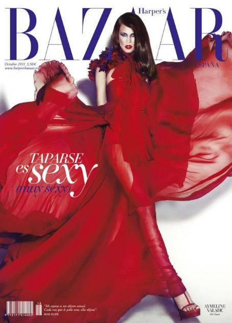 Aymeline Valade - Harper's Bazaar Magazine Cover [Spain] (October 2011)