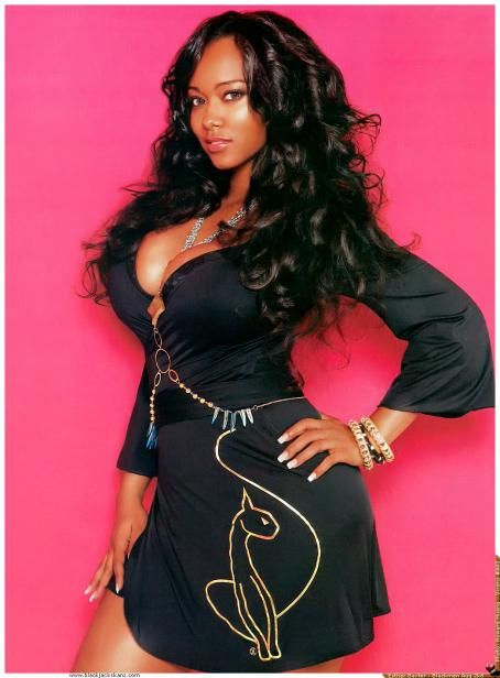 Esther Baxter - Black Men Magazine August 2008