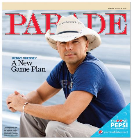 Kenny Chesney - Parade Magazine [United States] (8 August 2010)