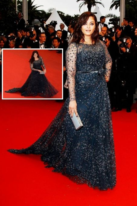 Aishwarya Rai Bachchan at the Cosmopolis premiere at Cannes 2012