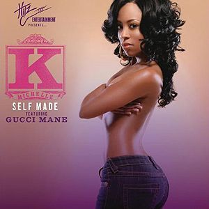 K Michelle Album Cover Self Made - K  Michelle