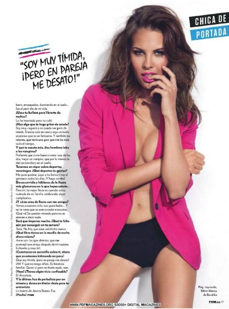 Jessica Bueno  FHM Spain June 2013