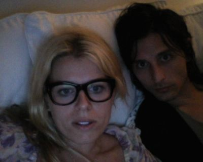 Amanda De Cadenet and Nick Valensi - ...