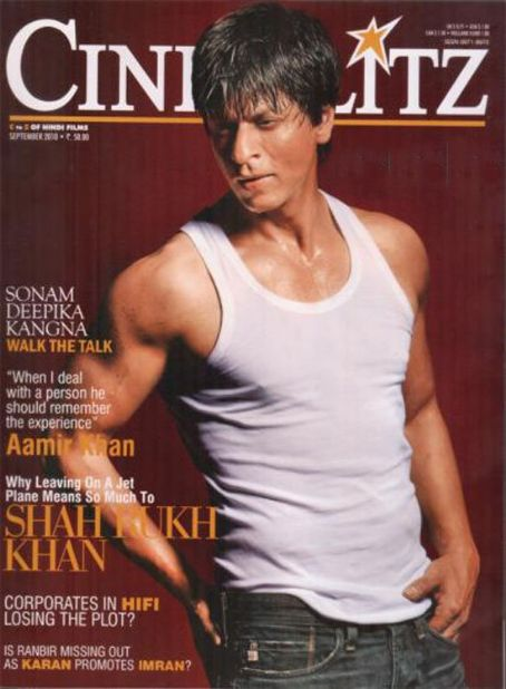 Shahrukh Khan - Cinéblitz Magazine [India] (September 2010)
