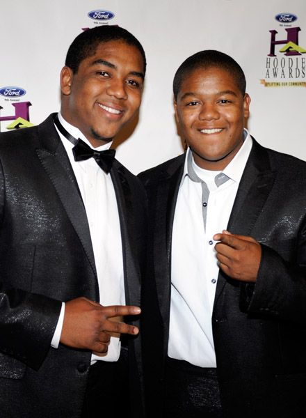 Kyle Massey - Kyle and Chris Massey attended the 9th Annual Ford Hoodie Awards in Las Vegas, August 13