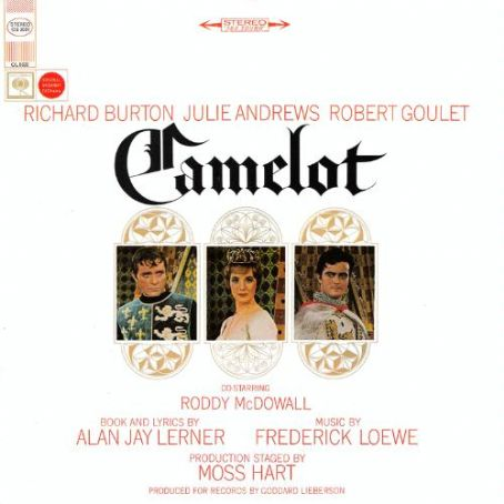 "Richard Burton - 1968 Second reissue lp of ""Camelot"""