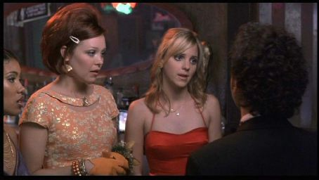 Alexandra Holden  and Anna Faris in Touchstone's The Hot Chick - 2002