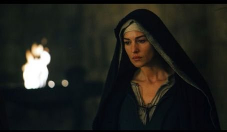 Mary Magdalene Monica Bellucci as Magdalen in a scene from The Passion Recut, directed by Mel Gibson.