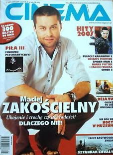 Maciej Zakoscielny - Cinema Magazine Cover [Poland] (June 2007)