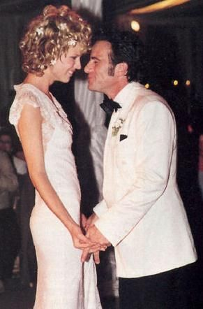 Tico Torres and Eva Herzigova