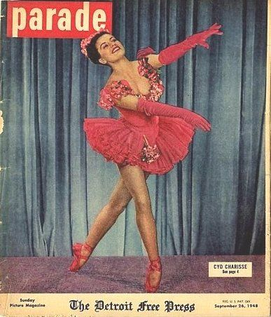 Cyd Charisse - Parade Magazine [United States] (26 September 1948)