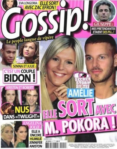 M. Pokora - Gossip Magazine Cover [France] (February 2011)