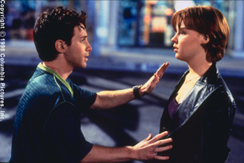 Can't Hardly Wait Seth Green and Lauren Ambrose in Columbia's Can't Hardly Wait - 1998