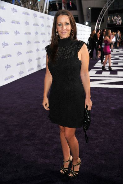Pattie Mallette Justin Beiber's mom  arrives at the premiere of Paramount Pictures'