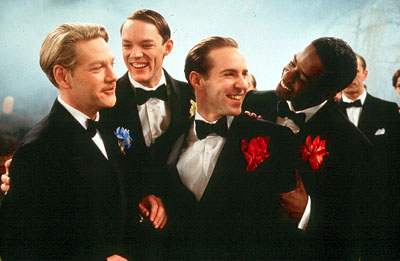 Kenneth Branagh, Matthew Lillard, Alessandro Nivola and Adrian Lester in Miramax's Love's Labour's Lost - 2000