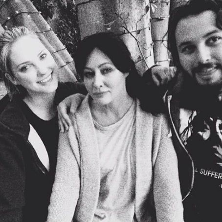 Ciara Hanna Shannen Doherty at the set of her new film 'Dead Water'