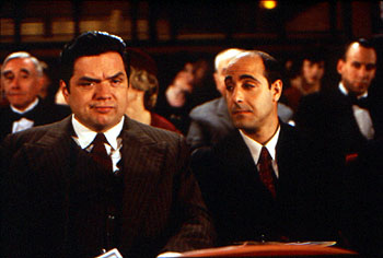 Oliver Platt and Stanley Tucci in The Impostors