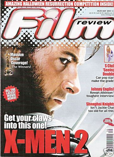 Hugh Jackman - Film Review Magazine [United Kingdom] (May 2003)