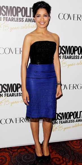"Freida Pinto: 15th anniversary of Cosmopolitan Magazine's ""Fun Fearless Awards"""