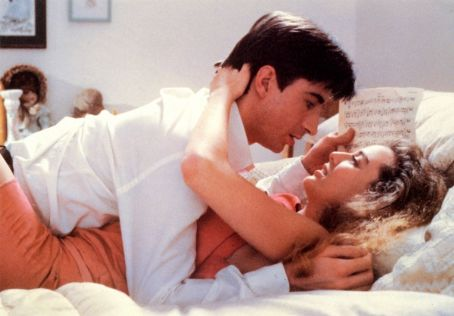Lenny von Dohlen Virginia Madsen and Lenny Von Dohlen in Electric Dreams (1984)
