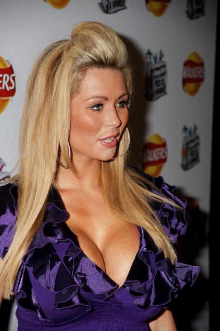 "Nicola McLean - ""Do Us A Flavour"" Walkers Launch Party In London, 2009-01-08"