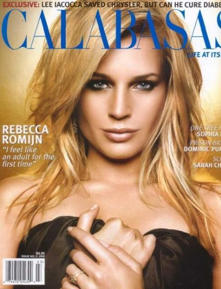 Rebecca Romijn - Calabasas Magazine Cover [United States] (March 2006)