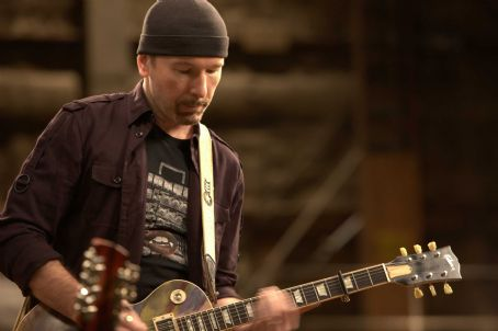 The Edge. Photo taken by Alba Tull, Courtesy of Sony Pictures Classics