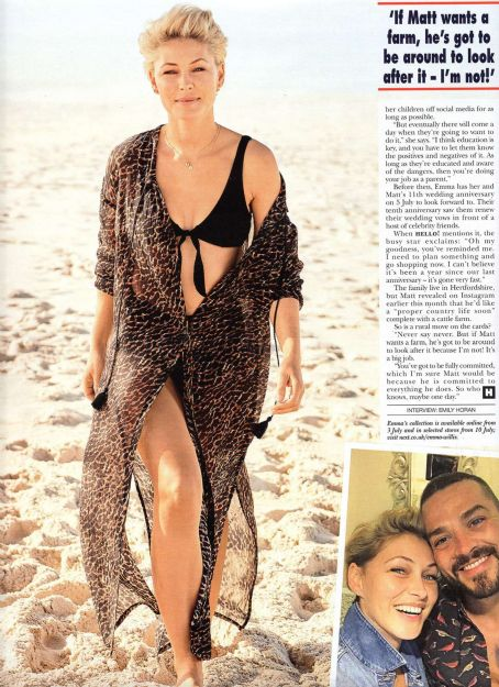 Emma Willis – Hello! Magazine (July 2019)