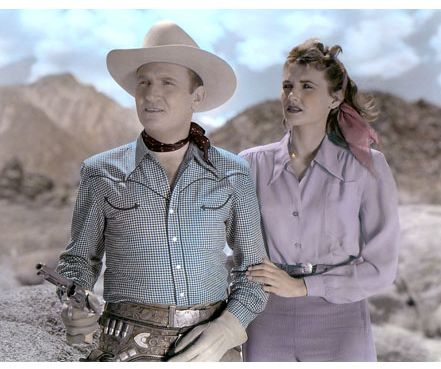 Peggy Stewart Gene Autry &