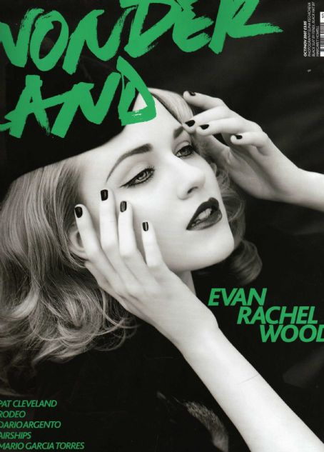 Evan Rachel Wood - Wonderland Magazine Cover [United Kingdom] (October 2007)