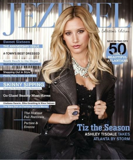 Ashley Tisdale - Jezebel Magazine Cover [United States] (November 2012)