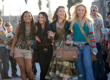 Nathalia Ramos Sasha, Jade, Yasmin and Cloe star in BRATZ. Photo credit: Chuck Zlotnick